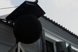 屋根の一部葺き替え工事について(7月24日~9月12日)