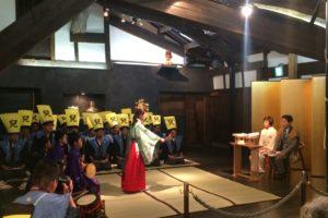 「博多松囃子 稚児の舞楽」2019年5月4日(祝土)16:00~(20分程度)